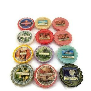 Yankee Candle Mixed Lot Of 12